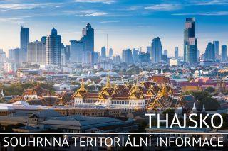 Thajsko: Základní charakteristika teritoria, ekonomický přehled