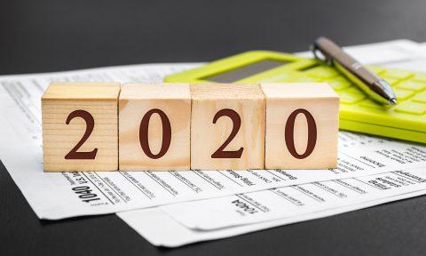 Daňový kalendář pro rok 2020