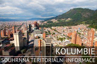 Kolumbie: Souhrnná teritoriální informace