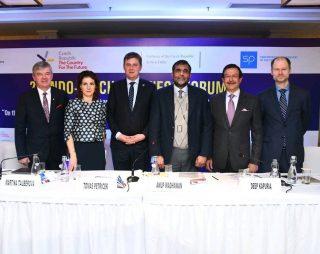 Náměstkyně Martina Tauberová v Indii podpořila české firmy