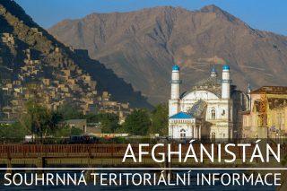 Afghánistán: Základní charakteristika teritoria, ekonomický přehled