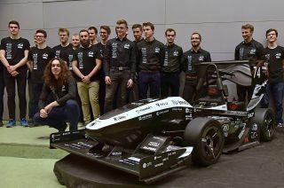 Studentská formule z Brna zazářila v soutěži Formula Student