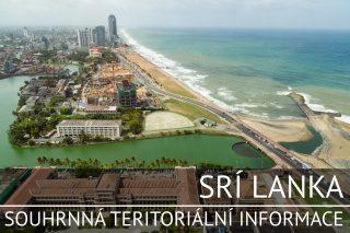 Srí Lanka: Souhrnná teritoriální informace