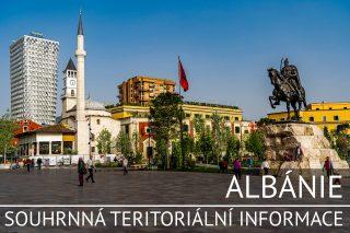 Albánie: Souhrnná teritoriální informace