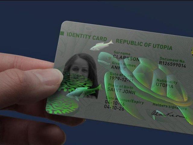 Bezpečnostní hologramy na dokladech