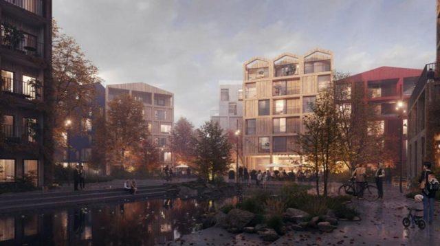Nový dánský projekt Fælledby. Více fauny a flory, méně aut
