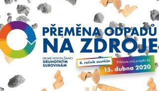 Ministerstvo vyhlásilo čtvrtý ročník soutěže Přeměna odpadů na zdroje. Hlásit se lze do poloviny dubna