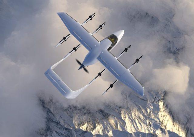 Hybridní letoun Zuri
