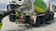 ERC-TECH: Míchačka s betonem
