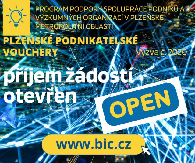 Plzeňské inovační vouchery 2020