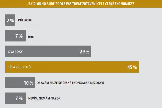 Jak dlouho bude podle vás trvat zotavení celé české ekonomiky?