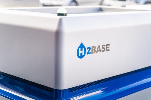 Mobilní zdroj elektrické energie z vodíku H2BASE