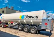 Kryogenická cisterna, respektive souprava na přepravu bioLNG