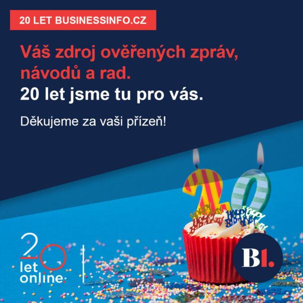 20 let BusinessInfo.cz