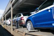 Transport automobilů Škoda