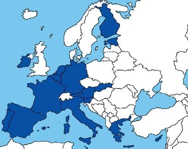 Státy eurozóny v ESM