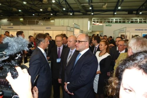 Foto z veletrhu AQUA UKRAINE