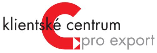 Logo Klientského centra pro export