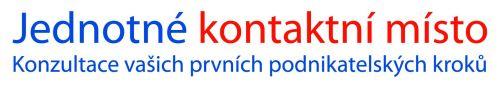 Jednotné kontaktní místo JKM logo