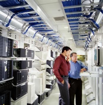 Manažeři serverovna počítače