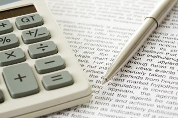 kalkulačka pero účty 350
