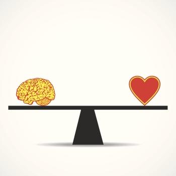 váha srdce rozum