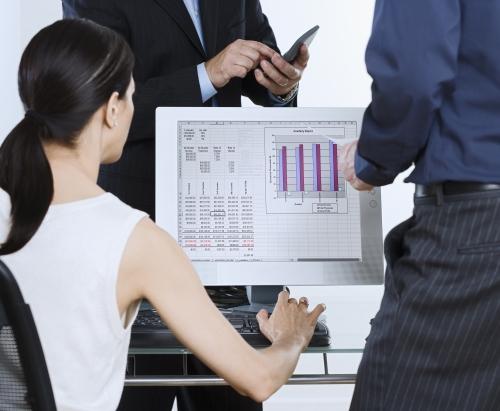 Byznys, tabulky, výpočty