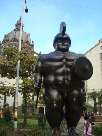 Kolumbie medellin pohled