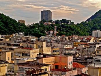 Brazílie, Rio, favelas