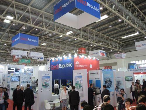 Expozice české oficiální účasti na veletrhu