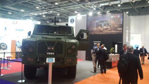 Vítěz soutěže – obrněné vozidlo VEGA společnosti SVOS