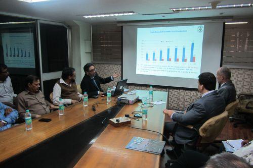 Přijetí českých vystavovatelů na Coal India Ltd.
