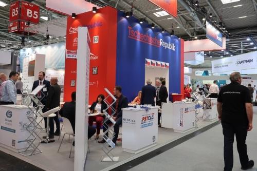 České firmy se prezentovaly na veletrhu dopravy a logistiky v Německu