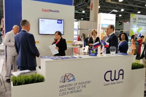 Česká oficiální účast na mezinárodním veletrhu WasteTech 2019 v Rusku