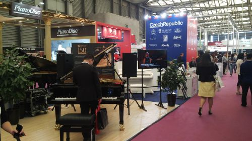 Oficiální expozice ČR na veletrhu Music China