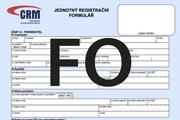 Pokyny pro vyplnění Jednotného registračního formuláře pro fyzické osoby