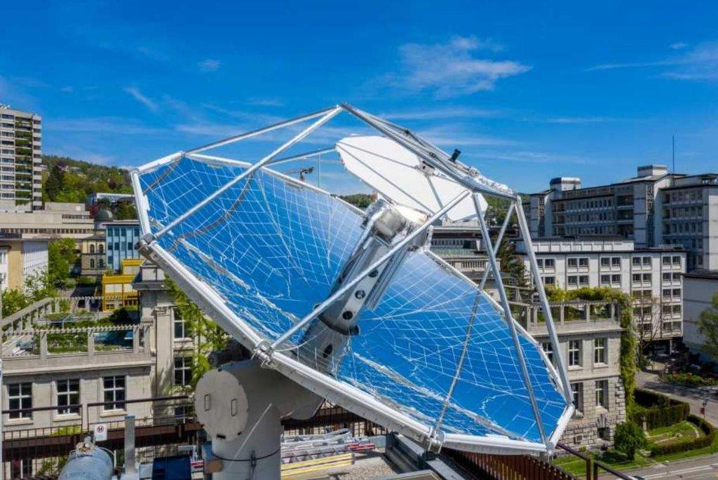 Solární rafinérie v Curychu, autor: ETH Zurich / Alessandro Della Bella
