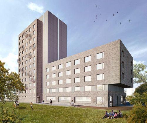 Studentské bydlení, vizualizace. Autor: CTP