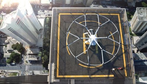 Volokoptéra, ilustrační foto. Zdroj: volocopter.com