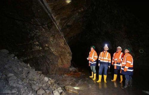 Projekt těžby lithia v rakouských Korutanech. Zdroj: European Lithium