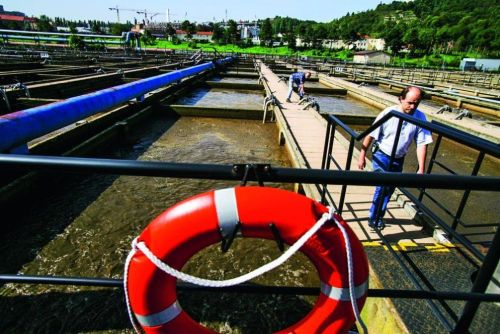 Čistírna odpadních vod, ilustrační foto, autor: Martin Pinkas/Euro