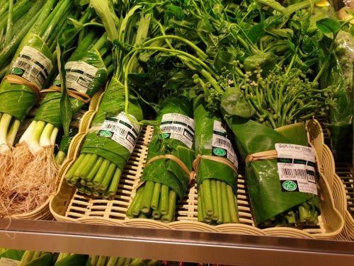 Banánové listy jako alternativa plastovým obalům, foto: facebook.com/perfecthomes.