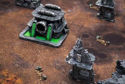 Resinové modely a herní podložky z mousepad materiálu z dílny Gamemat, autor: Gamemat