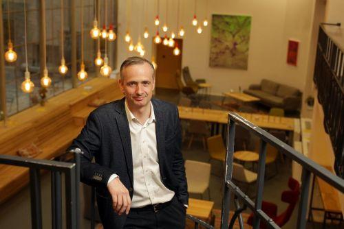 Šéf pražského coworkingového centra Opero Pavel Přikryl, foto: Hynek Glos/Euro