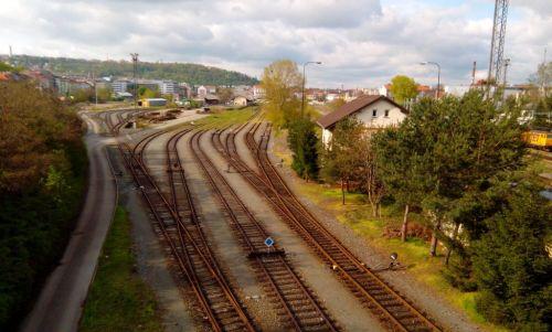 Bývalé nákladové nádraží Praha Smíchov, zdroj: archiv MF