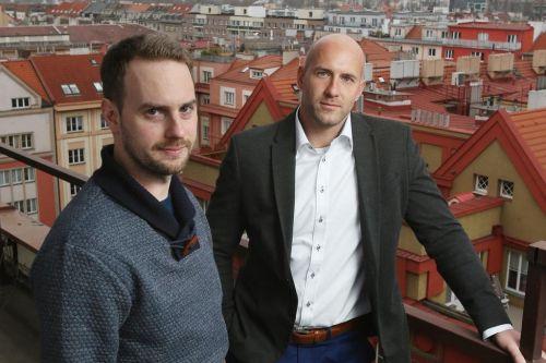 Benedikt Kotmel (vlevo) a  Michal Fišer Zdroj: Martin Pinkas/Euro