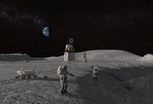 Caterpillar má těžit na Měsíci suroviny pro výstavbu americké mise