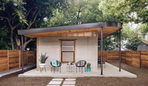 Vytištěný domek má rozlohu 55 metrů čtverečních. Foto: Icon