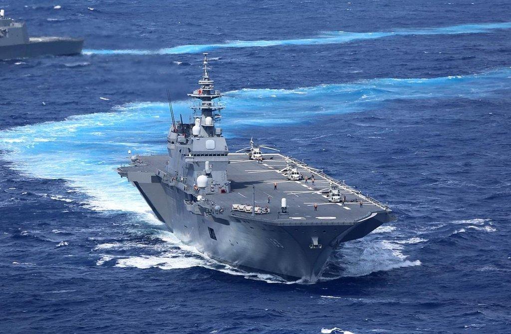 Japonsko chce posílit svou námořní sílu. , autor: Kaijō Jieitai (海上自衛隊 / Japan Maritime Self-Defense Force ) / CC BY-SA 4.0