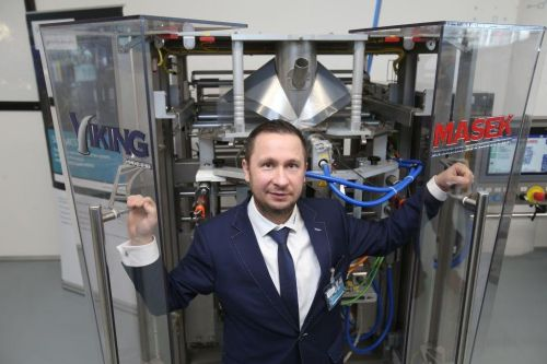 Lukáš Mašek, spolumajitel rodinné firmy Viking Mašek. Zdroj: Martin Pinkas/Euro